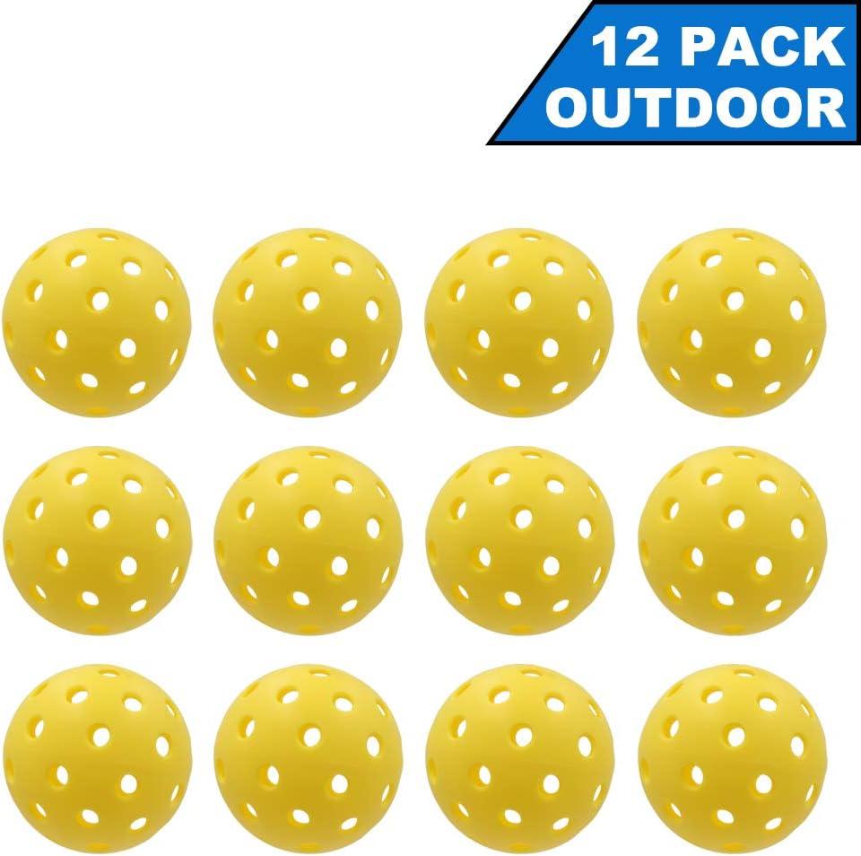 DunkGo Pickleballs Outdoor and Indoor with