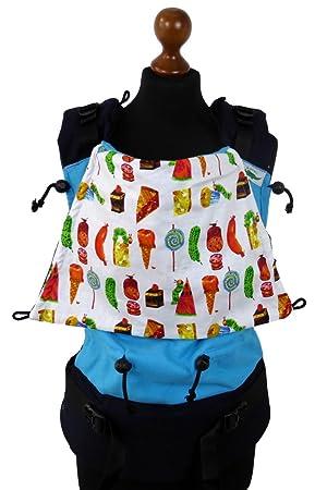 Buzzidil Facette Standard R/ückentrage Standard H/üftsitz Tragehilfe f/ür Babys von 3-36 Monaten Fullbuckle Babytrage mit Schlie/ßen ohne Binden mitwachsende Bauchtrage