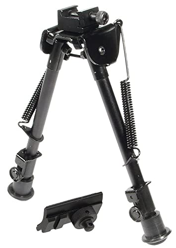 UTG Tactical OP Bipod, Rubber Feet, Center Height