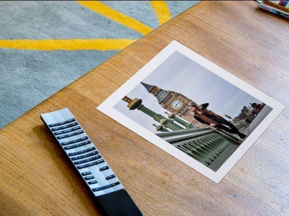 PPD Lot de 100/feuilles de papier photo haut de gamme pour imprimantes /à jet dencre Brillant 13/x/18/cm 240/g//m/²