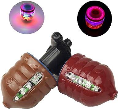 MeetUs Paquete de 2 Gyro Magic Spinning Top con Coloridas ...