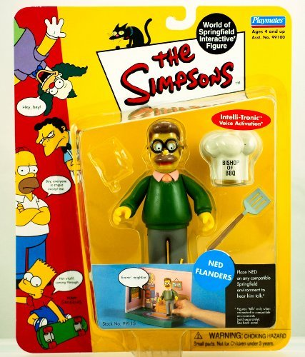 The Simpsons Series 2 Ned Flanders Action Figure -
