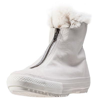 928ed6ac7f2a Converse CTAS Hi Rise Boot Shroud Fur Womens Boots Off White 7