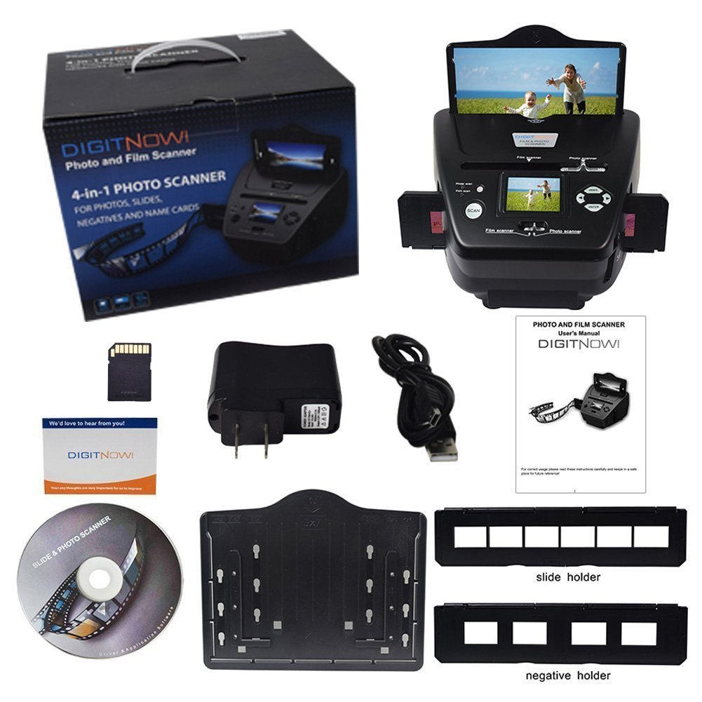 DIGITNOW 5M/10M 35mm Slides&Negatives Film Scanner Photo, Name Card, Slides and Negatives to Digital Converter for Saving Films to Digital Files in SD card(Included) with Photo Editing Software by DigitNow! (Image #7)