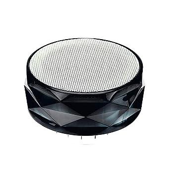 Qulista A66 Altavoz Bluetooth Cristal Tarjeta de luz ...