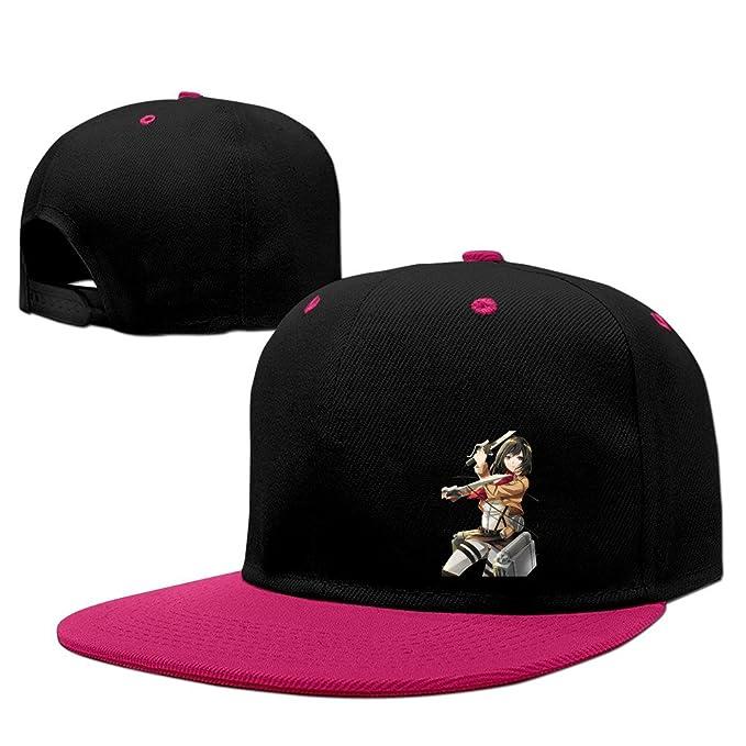 Newest Mikasa Attack On Titan Hip-Hop Cap Baseball Hat Snapback One Size  Male  eba10cddc683