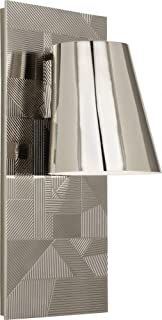 product image for Robert Abbey S622 Michael Berman Brut - One Light Wall Sconce, Polished Nickel Finish with Metal Shade