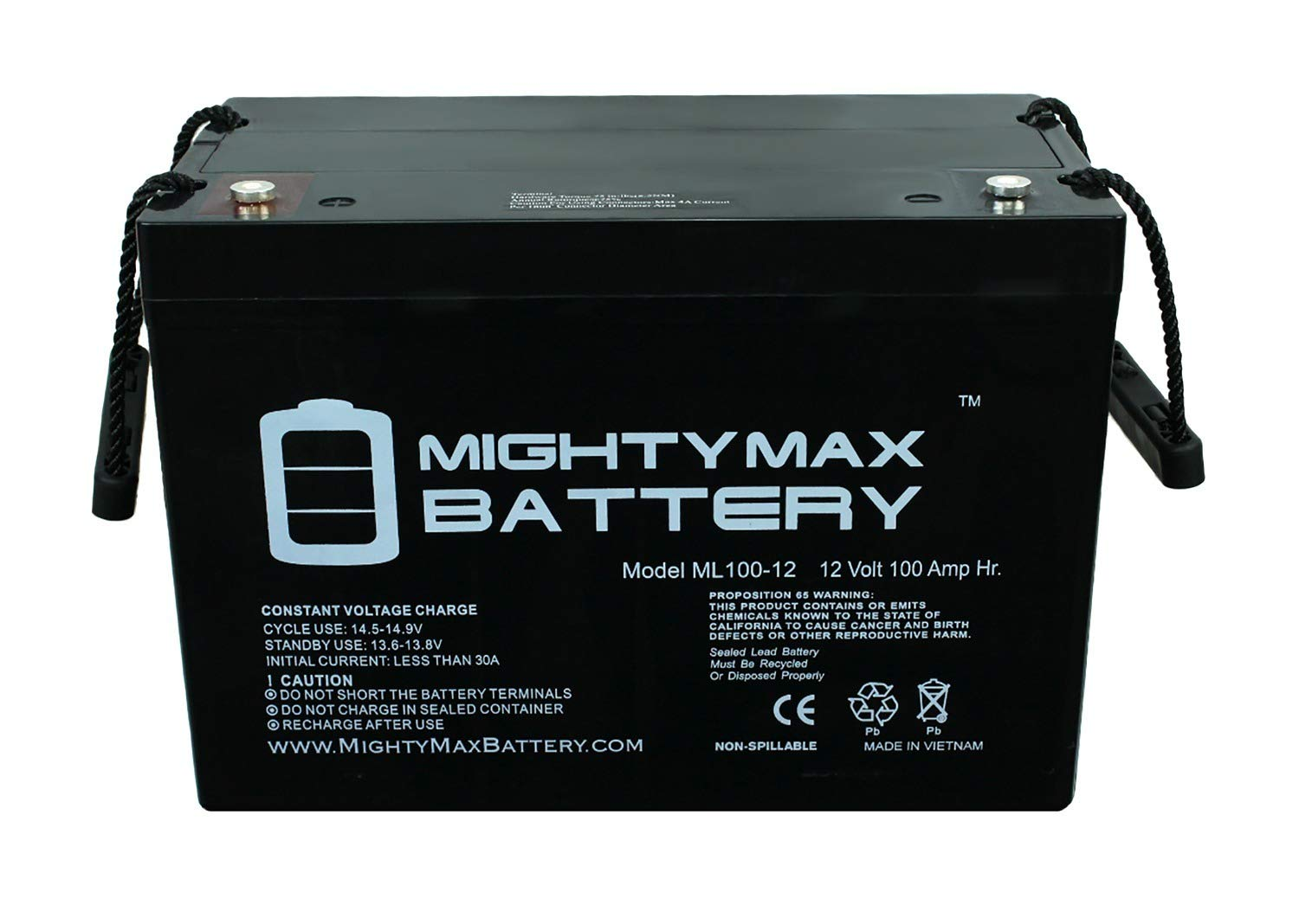 Mighty max - Best Camper Van Batteries