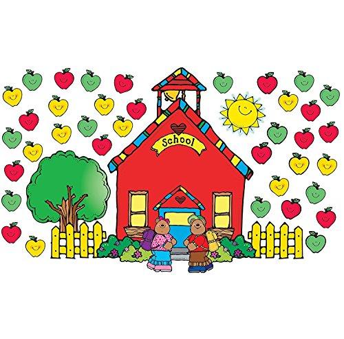 (Schoolhouse Bulletin Board Cut Out Set)