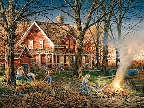 White Mountain Puzzles Autumn Evening-550 Piece Jigsaw Puzzle
