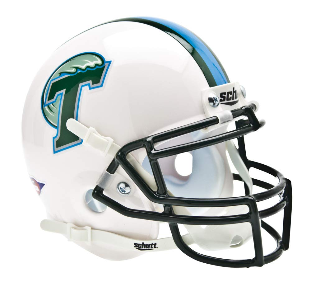 Schutt NCAA Tulane Green Wave Mini Authentic XP Football Helmet