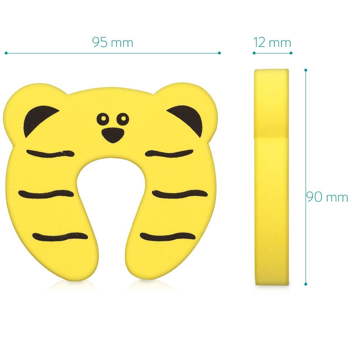 Türschutz Türpuffer Türstopper Kindersicherung Schaumstoff Finger Klemmschutz