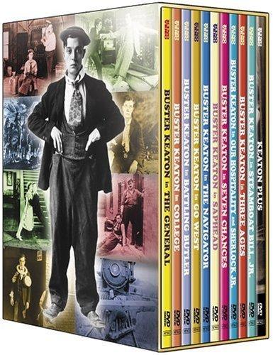 Buster Keaton: Art of Buster Keaton [11 Pack] (DVD) (Full Screen/Enhanced Widescreen for 16x9 TV/Black & White)