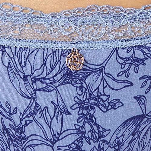 BNWT Femmes m/&s autographe gamme soie avec dentelle brésilien Corail KNICKER taille 24
