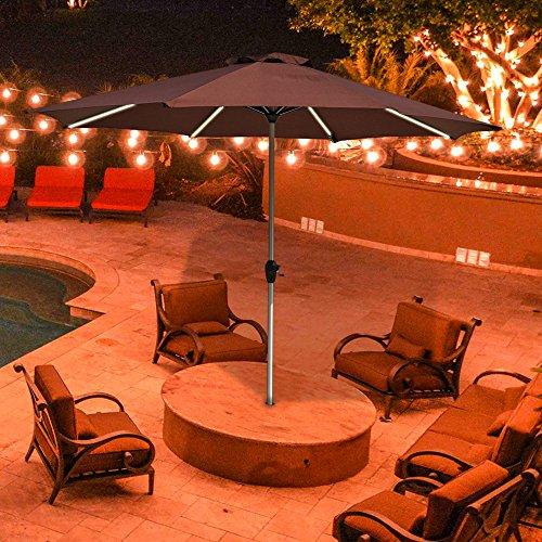 Le papillon 9 foot outdoor umbrella light strip market patio le papillon 9 foot outdoor umbrella light strip workwithnaturefo