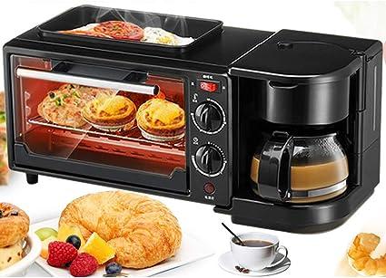 Cafetera multifunción automática 3 en 1 con mini horno ...