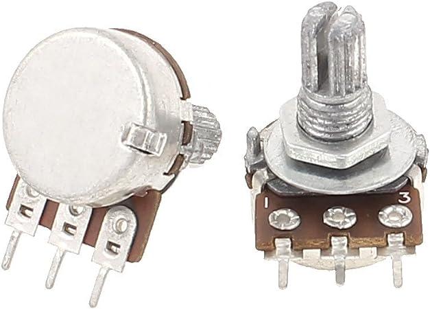 5 x 5K B5K OHM Linear Taper Rotary Potentiometers