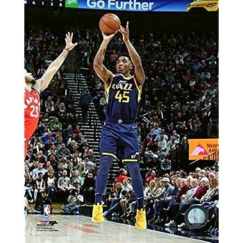 Donovan Mitchell Utah Jazz NBA Action Photo (Size: 11