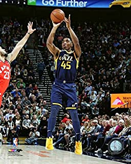 Donovan Mitchell Utah Jazz NBA Action Photo (Size: 11