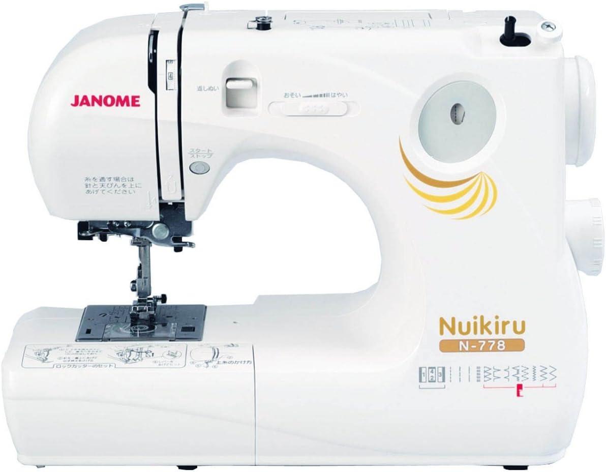 【第4位】ジャノメ『Nuikiru(ヌイキル)N778(661DE)』