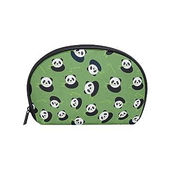 Amazon.com: Bolso de bambú verde con diseño de oso panda ...