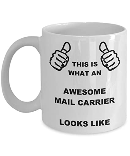 Amazon Funny Birthday Gifts For Mail Carrier Wife Husband Mom