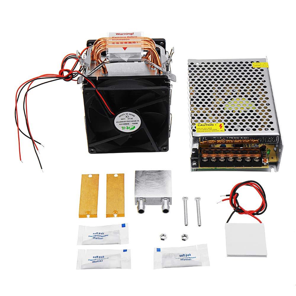 ランフィー 3銅管半導体冷凍魚タンク冷却冷蔵庫電子 DIY 冷却システム   B07PMQ3J7G