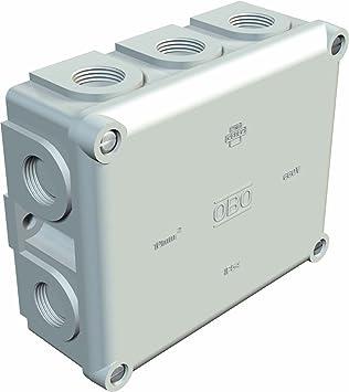 Obo-bettermann sistema conex.fij. - Caja derivación estanca/o ip54 b11 módulos vacia duroplast: Amazon.es: Bricolaje y herramientas