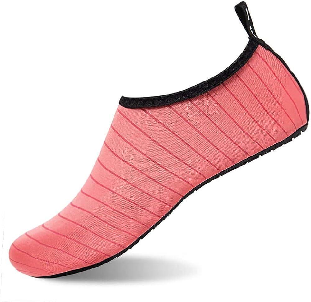Water Shoes Men Barefoot Quick-Dry Slip On Aqua Shoes Women Yoga Beach Surf Swim Socks for Men Women Pool Shoes Ladies