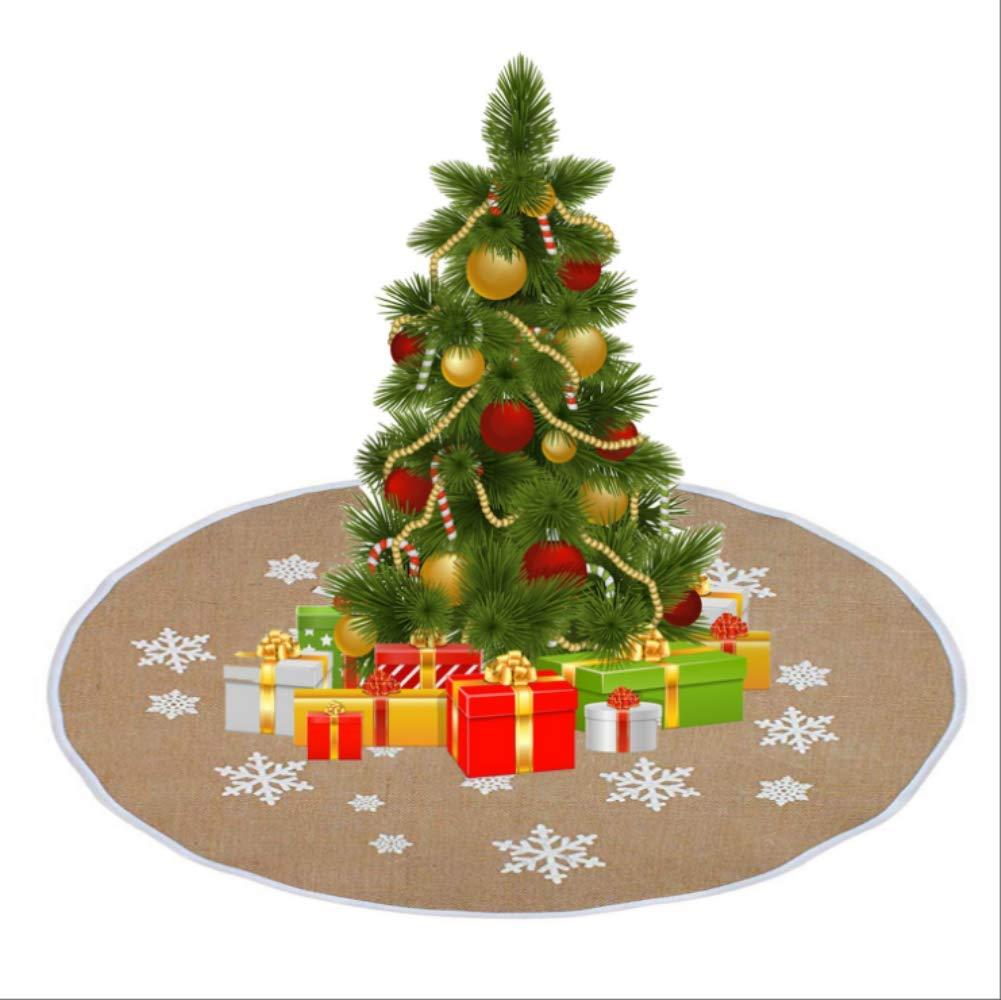 CMX-604 Falda De Árbol, Decoración De Fiesta Retro De Navidad De ...