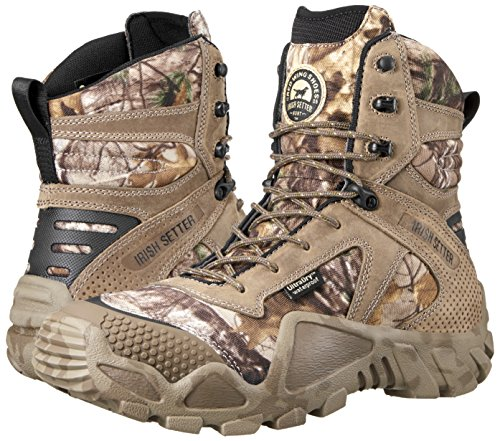 "Irish Setter Men's 2870 Vaprtrek Waterproof 8"" Hunting Boot, Realtree Xtra Camouflage,10 EE US"