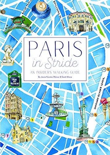 Paris in Stride: An Insider's Walking Guide cover