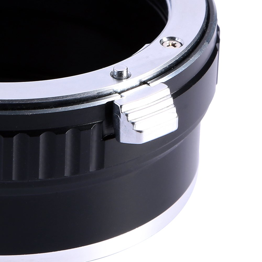 Adaptador Lentes C//Y Contax//Yashica a Montura Sony Alpha NEX E-Mount C/ámara K/&F Concept