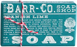 product image for Barr-co. Soap Shop 6 Oz Spanish Lime Bar Soap by The Barr-Co.
