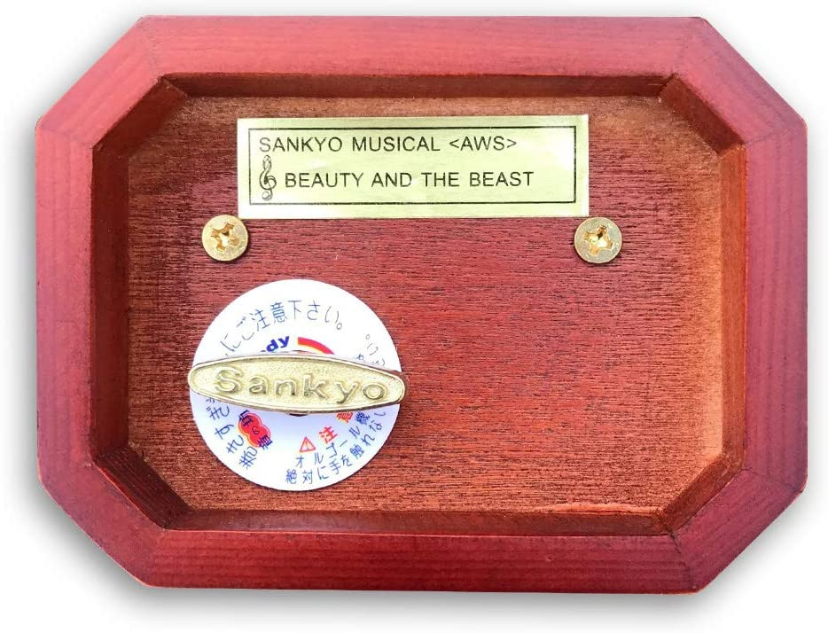 """Play /""""MARIAGE D/'AMOUR/"""" Silver Plated Sankyo Musical Movement for DIY Music Box"""