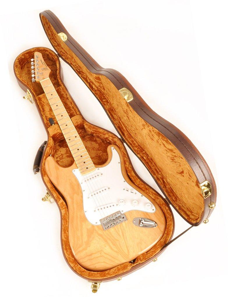 Douglas EGC-450 ST Brown Gold Guitar Case for Fender Stratocaster Telecaster and Similar Models by Douglas