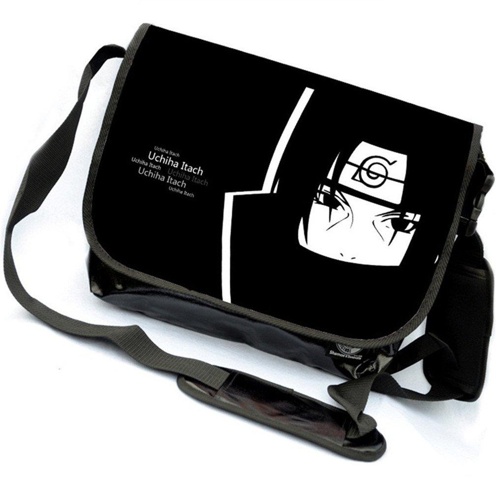 YOYOSHome Anime Naruto Cosplay Messenger Bag Shoulder Bag Handbag Crossbody Backpack School Bag