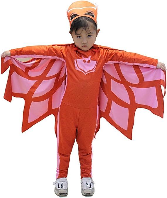 Disfraz de carnaval para niños Super Heroes Gato búho y Gecko PJ ...