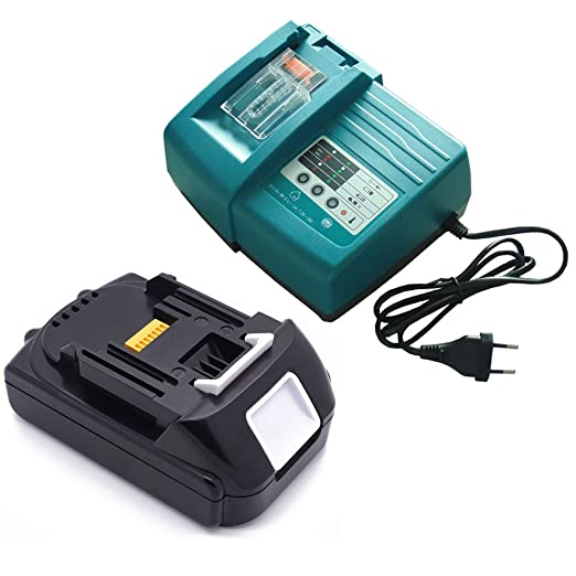Cargador para Makita 18 V Li-ion + 1.5 Ah Batería para ...