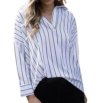 Camisetas Mujer , ❤ Amlaiworld 2018 Nuevo Blusas para Mujer elegantes Sexy Camisas de impresión de ...