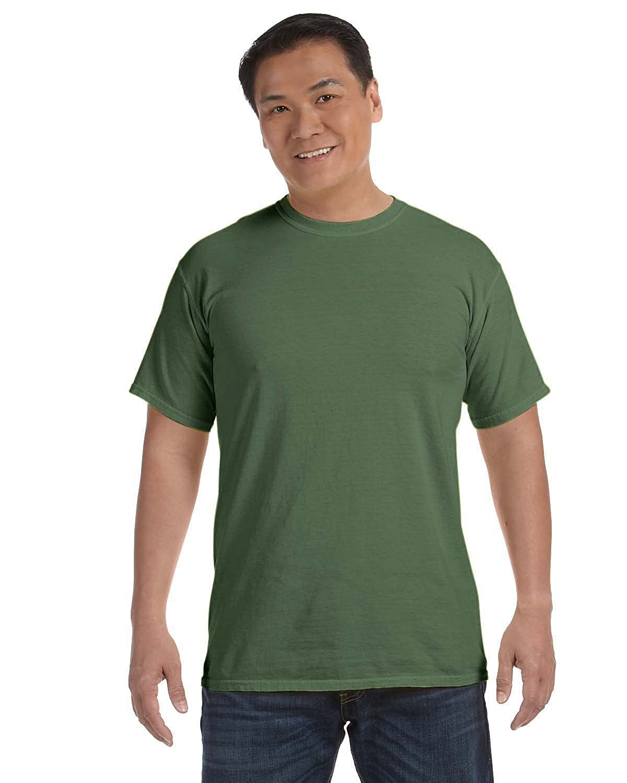Comfort Colors C1717 Mens Ringspun Garment-Dyed T-Shirt MONTEREY SAGE L