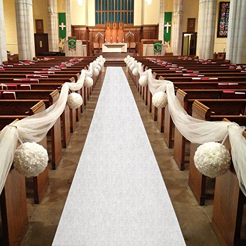Healon Wedding Aisle Runner 100 x 3 ft