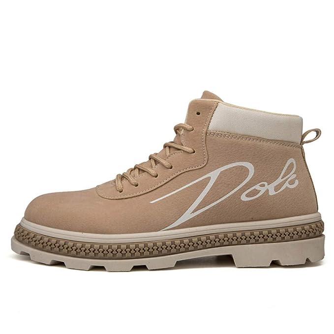 Calzado Tobillo Piel Al Aire Libre Altas Zapatillas,Naturazy Hombre Botas De Nieve Senderismo Impermeables Deportes Trekking Zapatos Forro Piel Sneakers ...