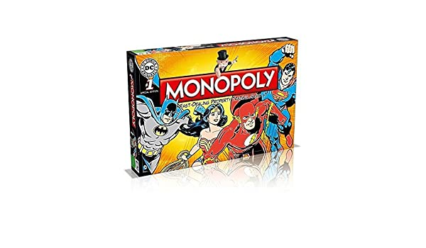 Monopoly DC Comics Retro Board Game by Monopoly: Amazon.es: Juguetes y juegos