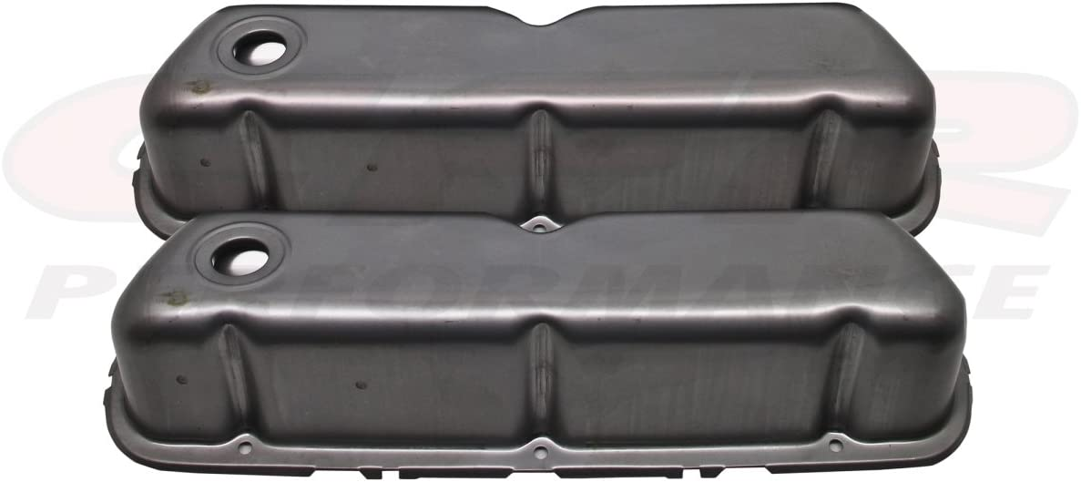 CFR HZ-9237-R 1962-85 Ford Small Block 260-289-302-351W Steel Valve Covers Raw