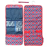 Best Man Red Blue Diamond New Large Hanging Male Toiletry Kit Shower Caddy Summer Camping Travel Bag Case Unique Special Practical Cute Popular Gift Idea 2018 for Dad Father in Law Husband Him