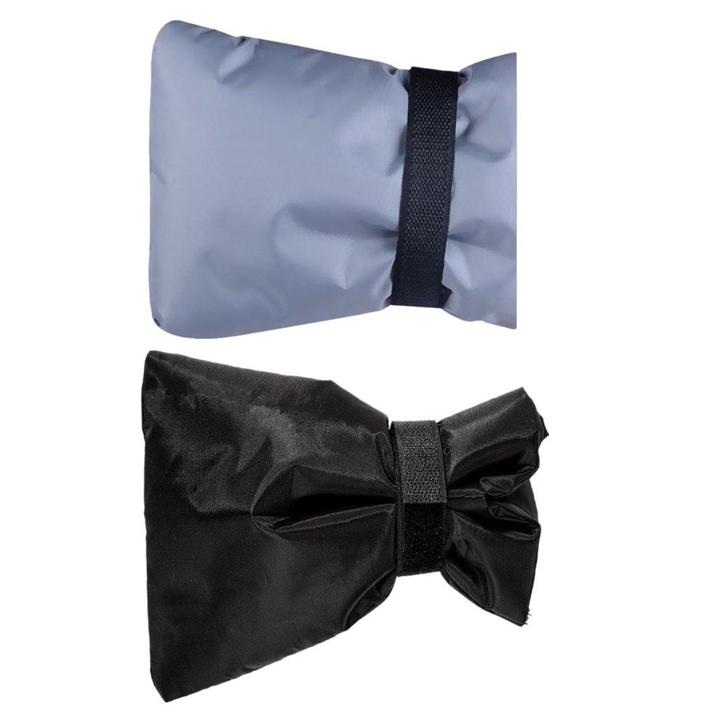 MagiDeal 2Piece Outdoor Faucet Cover, Calcetines De Grifo Para Protecció n Contra Congelamiento Gris + Negro Calcetines De Grifo Para Protección Contra Congelamiento Gris + Negro