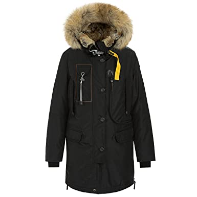 Parajumpers Women's Kodiak Lapin-W Parka PW JCK MA42, Black (X-Small