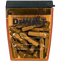 Dewalt DT71521-QZ DT71521-QZ-Juego de 25 Puntas Pz2 de 25 mm, 0 V