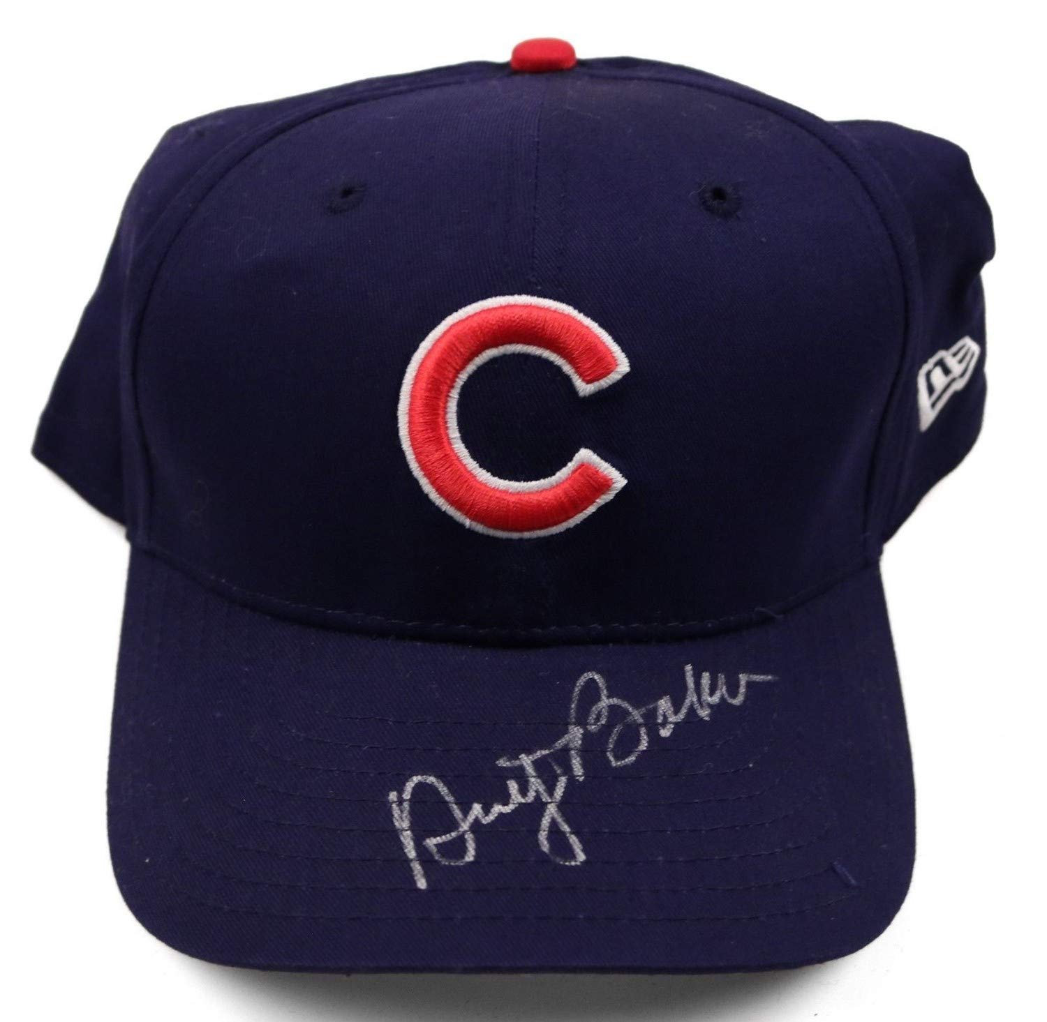 Dusty Baker Cubs Autographed Signed MLB New Era Hat JSA Coa